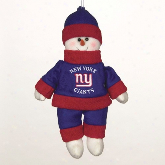 New York Giants 10-inch Snowflake Friend Plush