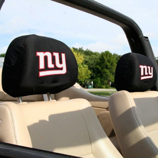 New York Giants 2-pack Headrest Covers