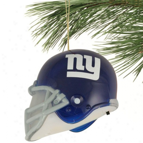 New York Giants 3'' Acrylic Light-up Football Helmet Decorate