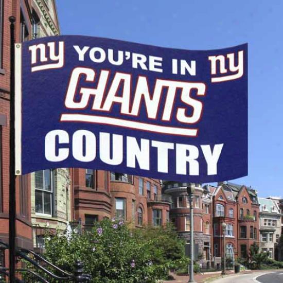 New York Giants Flag : New York Giants 3' X 5' Giants Rude Flag