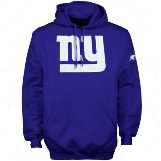 New York Giants Fleece : Reebok New York Giants Royal Blue Inaugural Stadium Fleece