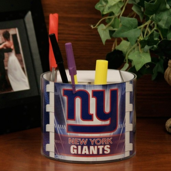 New York Giants Football Graphic Paper & Desk Caddy