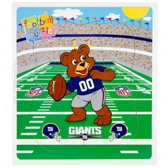 New York Giants Football Puzzle