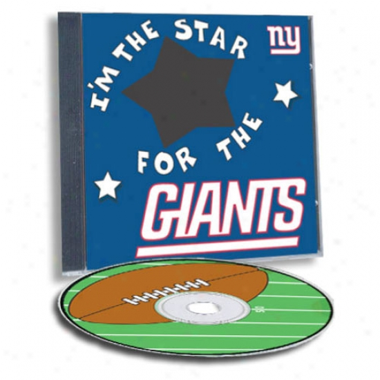 Novel York Giants Gam Hero Custom Sport Cd