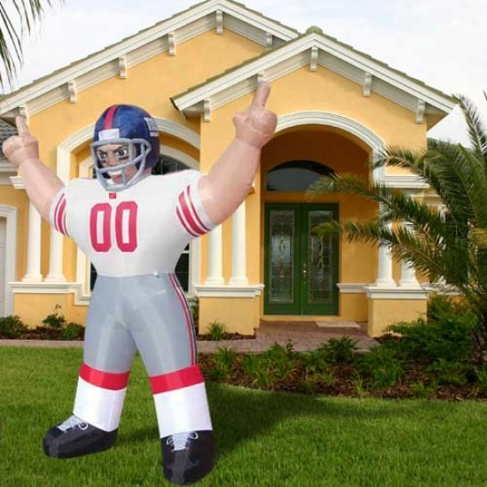 New York Giants Inflatable Player
