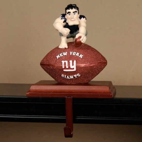 New York Giants Mascot Stocking Hanger