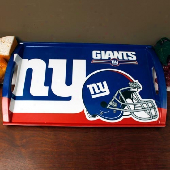 New York Giants Melamine Serving Tray