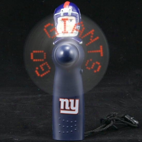 New York Giants Navy Blue Light-up Player Fan