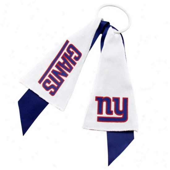 New York Giants Ponytail Holder