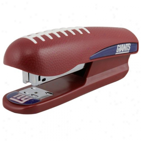 New York Giants Pro-grip Football Stapler