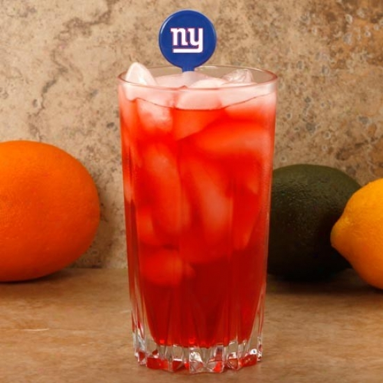 New York Giants Royal Blue 6-pack Drink Picks