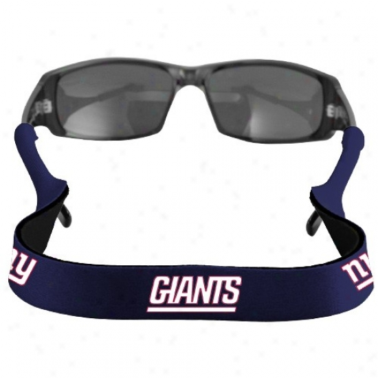 New York Giants Royal Blue Neoprene Retainer Sunglasses Holder
