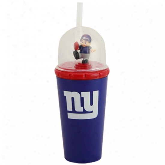 New York Giants Royai Blue Wind-up Mascot Cup