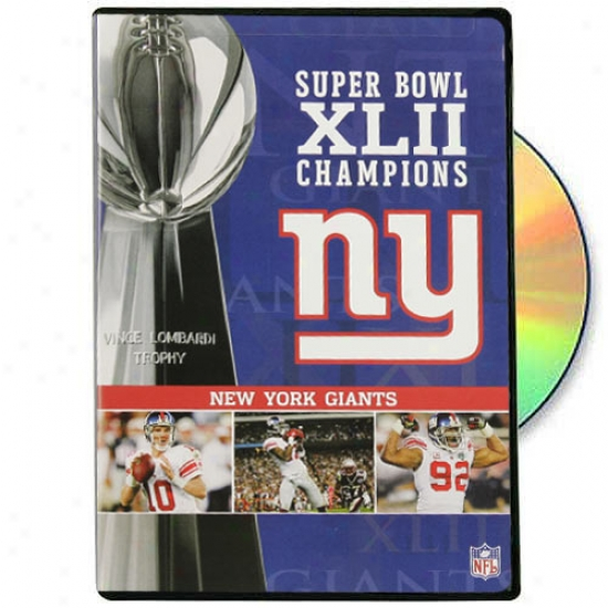 New York Giants Super Bowl Xlii Champions Dvd