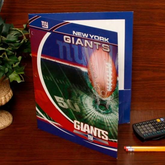 New Yokr Giants Tesm Folder