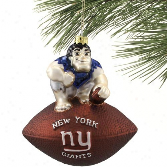 New York Giants Team Spirit Ornament