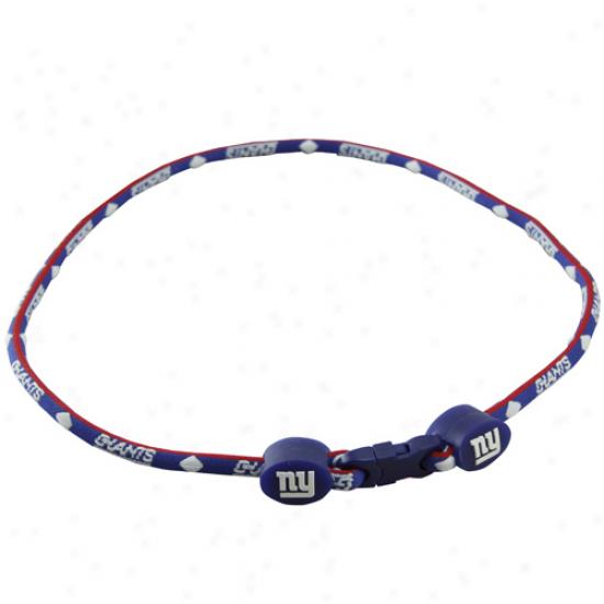 New York Giants Titanium Sport Necklace