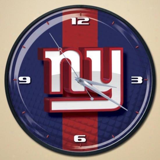 Novel York Giants Wall Clock