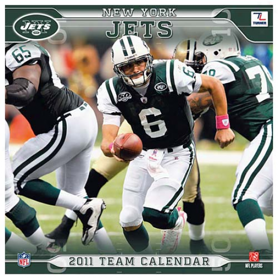 New York Jets 2011 Wall Calendar