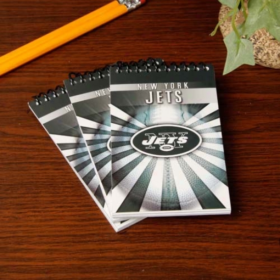 New York Jets 3-pack Memo Books