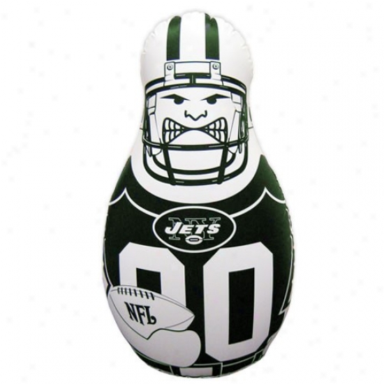 """""""new York Jets 40"""""""" Inflatable Tackle Buddy Punching Bag"""""""