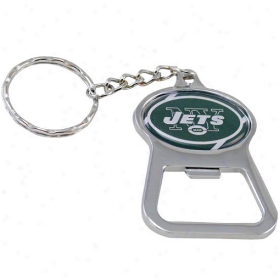 New York Jets Bottle Opener Keycuain