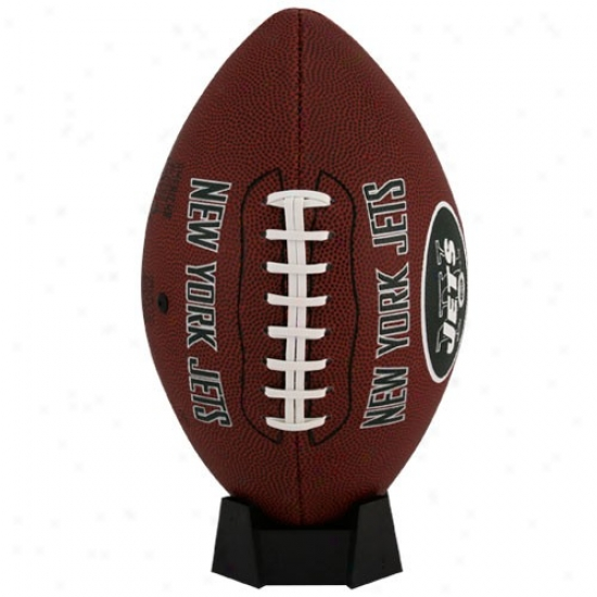 New York Jets Full-size Game Time Football