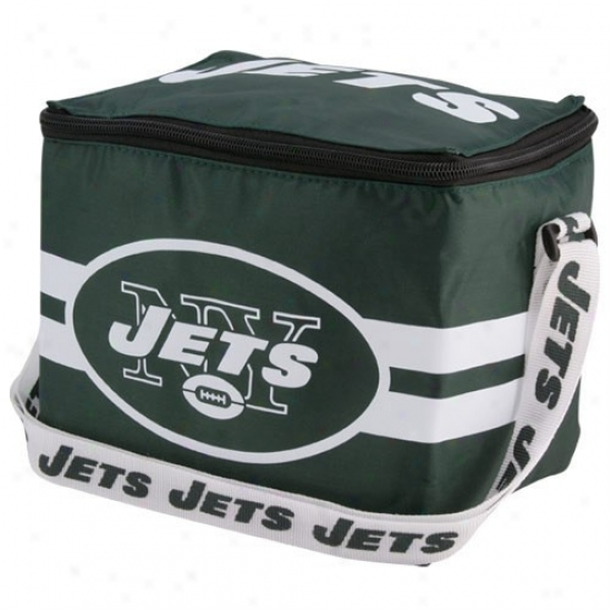 New York Jets GreenI nsulated 12 Pack Cooler