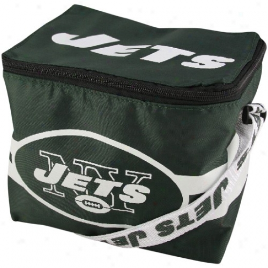 New York Jets Green Insulated Lunch Bag