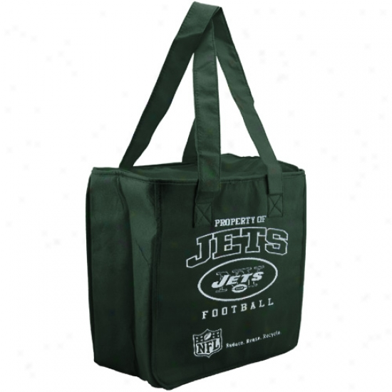 New York Jets Green Reusable Insulated Tote Bag