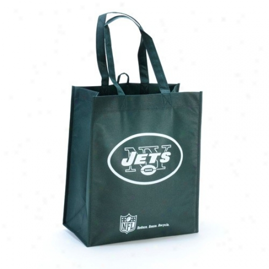 New York Jets Green Reusable Carry Bag