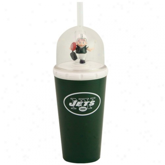 Starting a~ York Jets Green Wind-up Mascog Cup