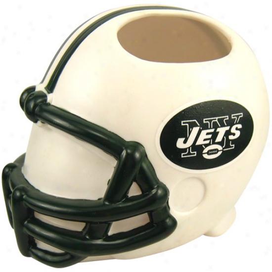 New York Jets Helmet Toothbrush Holder