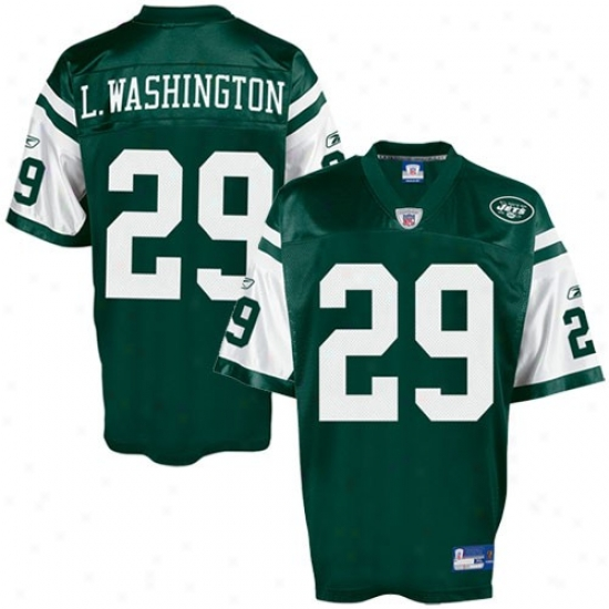 New York Jets Jerseys : Reebok New York Jes #29 Leon Washinbton Replica Football Jerseys