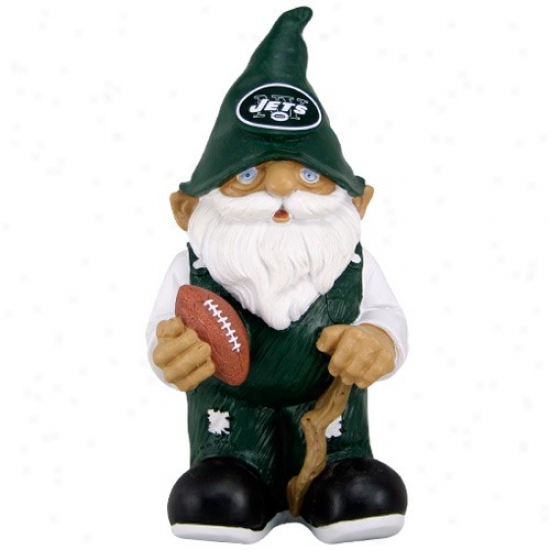 New Y0rk Jets Mini Football Gnome Figurine