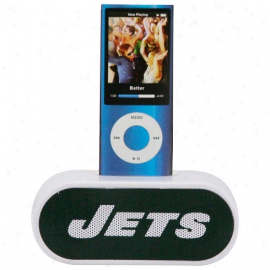Just discovered York Jets On-the-go Portable Mini Speaker
