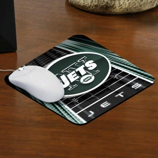 New York Jets Team Logo Mousepad