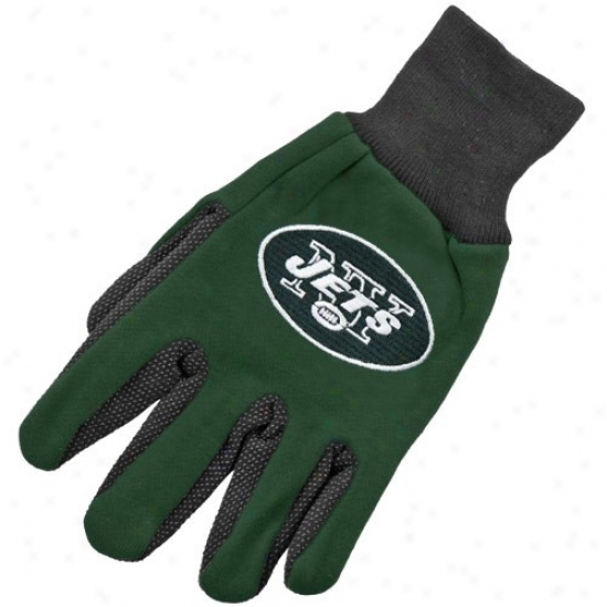 New York Jets Two-tone Utility Gloves