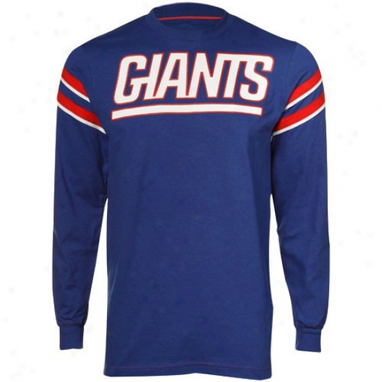 Ny Giant Shirts : Ny Ginat Royal Blue End Of The Line Ii Shirts