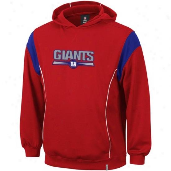 Ny Monster Stuff: Reebok Ny Giant Red Showboat Hoody Sweatshirt