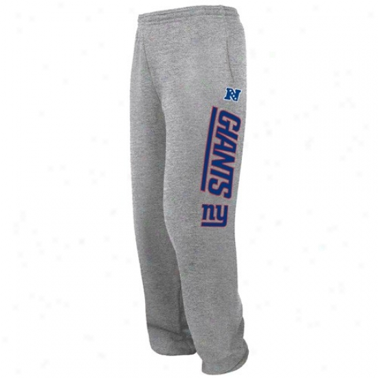 Ny Giant Sweatshirts : Ny Giant Ash Critical Victpry Iv Sweatpants