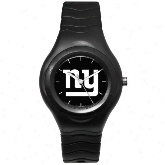 Ny Giant Watches : Ny Giant Black Typify Team Logo Sport Watches