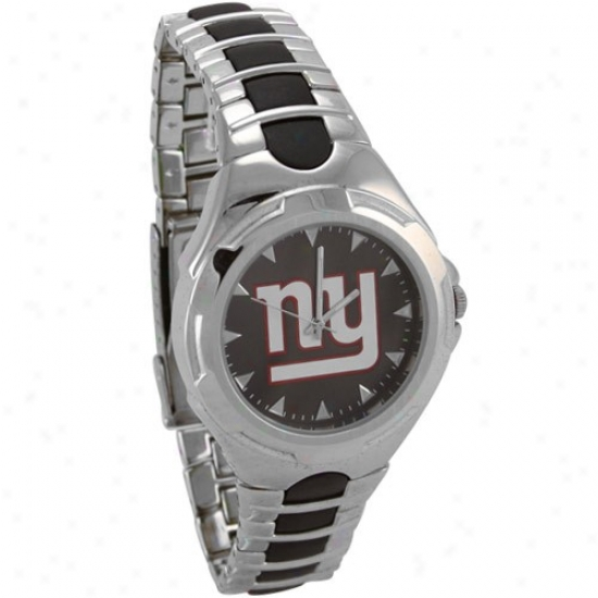 Ny Giant Watches : Ny Giant Stainless Steel Victory Watches