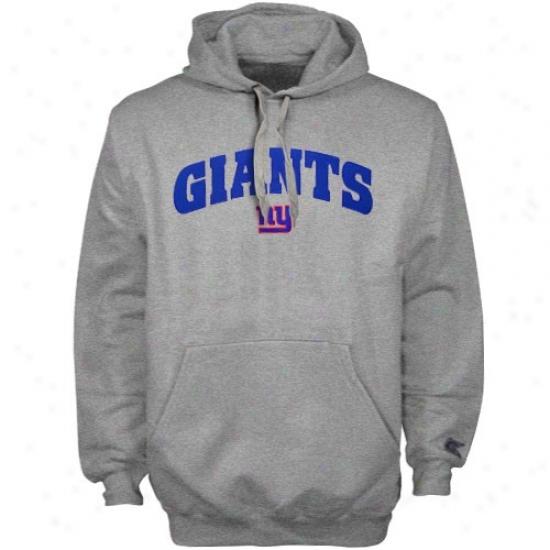 Ny Giants Hoodies : Ny Giants Ash Greek Hoodkes Iii Pullover Hoodies