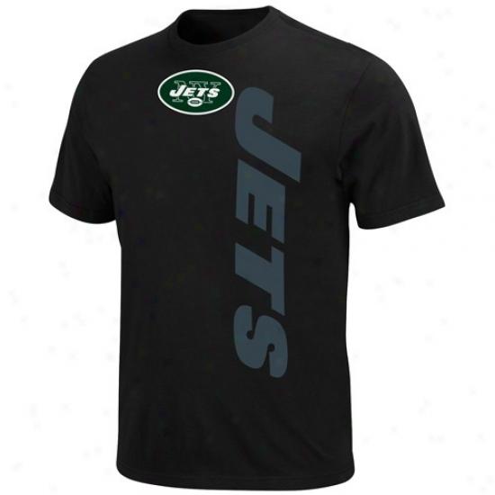 Ny Jet Tshirt : Ny Jet Black All-time Great Tshort