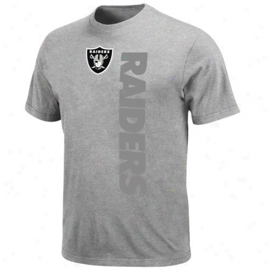 Oakland Raider Shirts : Oakland Raider Ash All-time Great Shirts