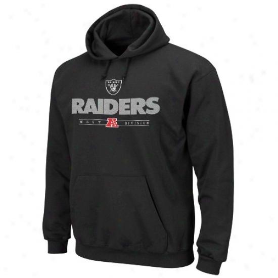 Oakland Raider Sweatshirts : Oakland Raider Black Critical Victory Iv Sweatshirts