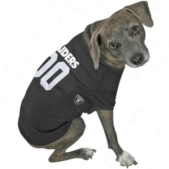 Oakland Raiders #00 Black Dog Jersey