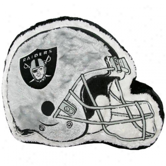 Oakland Raiders 14'' Team Helmet Plush Pillow
