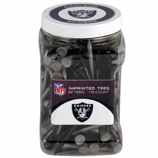 Oakland Raiders 175-count Golf Tees